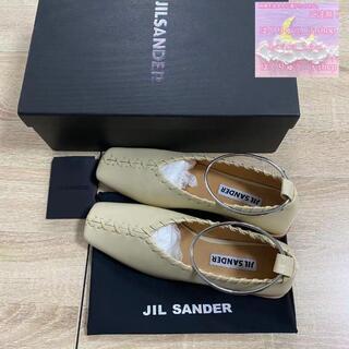 JIL SANDER ジルサンダー フラットバレエシューズ 37サイズ