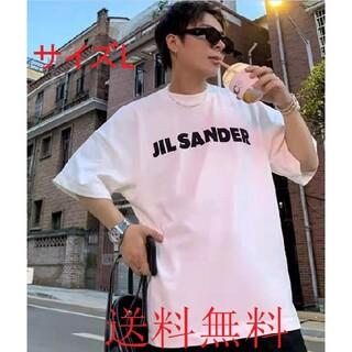 Jil Sander - JIL SANDER ジルサンダーオーバーサイズ ロゴ Tシャツ