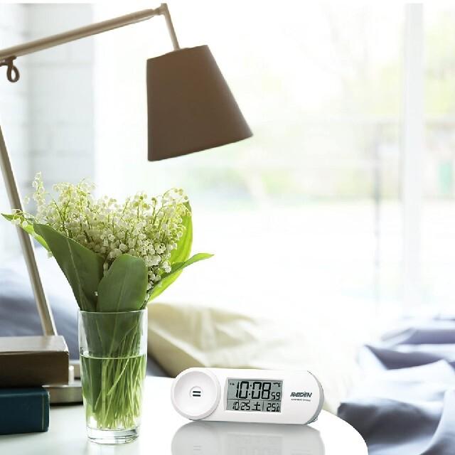 SEIKO(セイコー)の(新品) 電波式目覚まし置き時計 (SEIKO) インテリア/住まい/日用品のインテリア小物(置時計)の商品写真