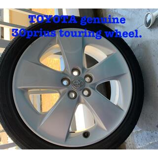 トヨタ - TOYOTA genuine 30prius touring wheel.