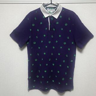 トミー(TOMMY)のトミー ポロシャツ 半袖 ESTABLSHED 1985 NYC Lサイズ(ポロシャツ)