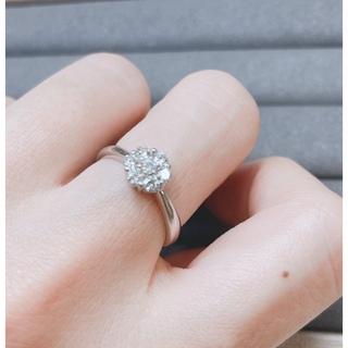 ダイヤモンドリング pt900(リング(指輪))