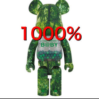 MY FIRST BE@RBRICK  FOREST GREEN  1000%(その他)