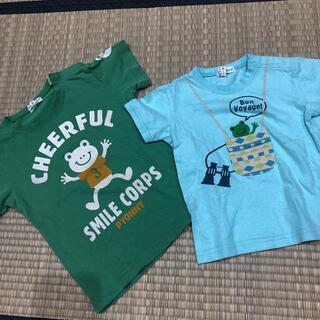 サンカンシオン(3can4on)の3can4on  Tシャツ カエルさん(Tシャツ/カットソー)