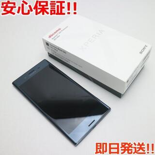 ソニー(SONY)の 保証美品 SO-04J Xperia XZ Premium ブラック 白ロム(スマートフォン本体)