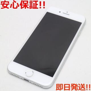 アイフォーン(iPhone)の美品 SIMフリー iPhone7 128GB シルバー (スマートフォン本体)