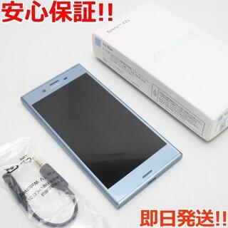 ソニー(SONY)の新品同様 602SO Xperia XZs ブルー 白ロム(スマートフォン本体)