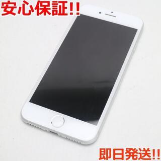 アイフォーン(iPhone)の美品 SIMフリー iPhone7 32GB シルバー (スマートフォン本体)