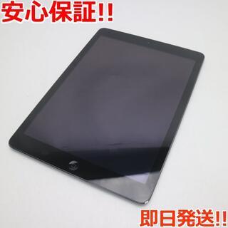 アップル(Apple)の新品同様 au iPad Air Cellular 32GB グレイ (タブレット)