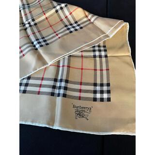 バーバリー(BURBERRY)の極美品BURBERRY LONDONバーバリーロンドンスカーフショールレディース(バンダナ/スカーフ)