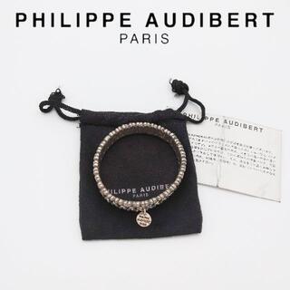 フィリップオーディベール(Philippe Audibert)のフィリップオーディベール LISA ブレスレット スワロフスキークリスタル(ブレスレット/バングル)