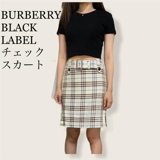 BURBERRY BLUE LABEL - Burberry Black Label チェックタイトスカート