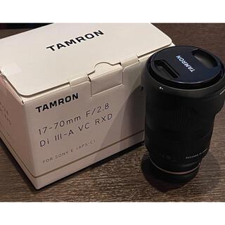 タムロン(TAMRON)の【値下げ中】タムロン17-70mm F2.8 DiIII-A VC RXD(ミラーレス一眼)