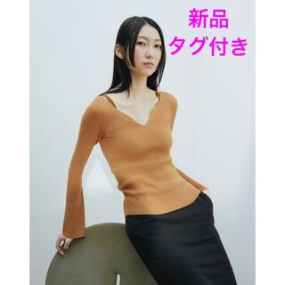 mame - Mame Kurogouchi マメ ユニクロ コラボ 3Dリブセーター