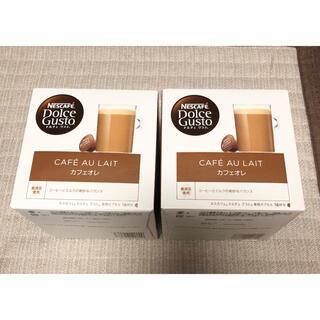 Nestle - ネスカフェ ドルチェ グスト カフェオレ 専用カプセル 2箱