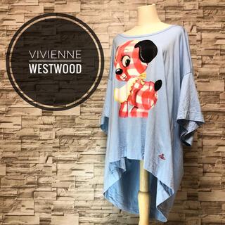 Vivienne Westwood - ヴィヴィアン レッドレーベル ギンガムパピー カットソー ビックロゴ オーブ