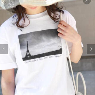 イエナスローブ(IENA SLOBE)のフォトTシャツ(Tシャツ(半袖/袖なし))