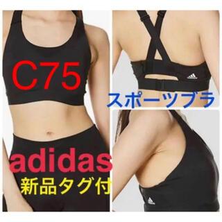 アディダス(adidas)のC75 [アディダス] スポーツブラ ドントレスト ブラ GLO11(ブラ)