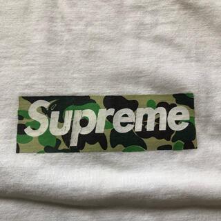 Supreme - supreme×Ape boxlogo T-shirt M