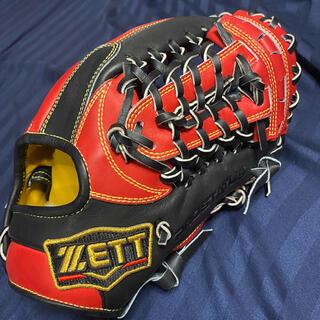 ゼット(ZETT)のゼットプロステイタス 軟式オーダーグローブ 内野手用 ゼット グローブ(グローブ)