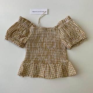 キャラメルベビー&チャイルド(Caramel baby&child )のhouse of paloma  Sirene Blouse 3Y(Tシャツ/カットソー)