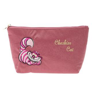 Maison de FLEUR - メゾンドフルール Disney Cheshire Cat ベーシックポーチ