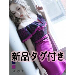 エンジェルアール(AngelR)の新品タグ付き IRMA キャバドレス オフショル ベルト(ナイトドレス)