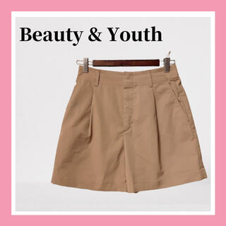ビューティアンドユースユナイテッドアローズ(BEAUTY&YOUTH UNITED ARROWS)の美品 Beauty&Youth ユナイテッドアローズ ショートパンツ ショーパン(ショートパンツ)