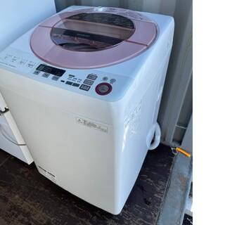 SHARP - SHARP 8キロ洗濯機 💍2015年製💍ピンク インバーター搭載モデル