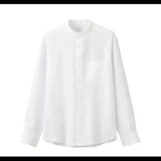 ムジルシリョウヒン(MUJI (無印良品))のフレンチリネン洗いざらしスタンドカラーシャツ(シャツ)