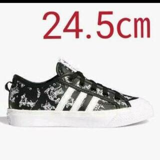 アディダス(adidas)の【新品】【サイズ:24.5㎝】アディダス×ディズニーコラボスニーカーGOOFY(スニーカー)