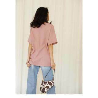 シールームリン(SeaRoomlynn)のsearoomlynn サークルネックヘビールーズTシャツ(Tシャツ(半袖/袖なし))