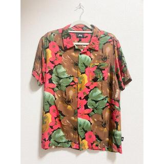ステューシー(STUSSY)のSTUSSY botanical aloha shirt L 20ss(シャツ)