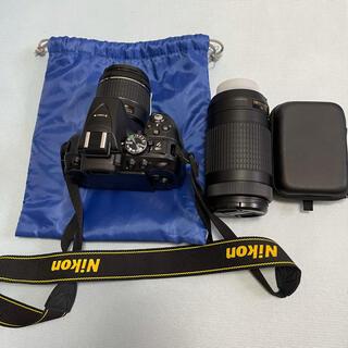 Nikon - 最終セール 超美品 Nikon D5300 AF-P ダブルズームキット