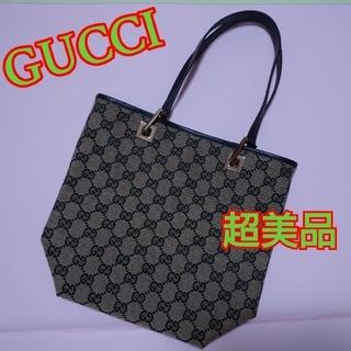 グッチ(Gucci)の超美品グッチGGキャンバス☆バケツトート(トートバッグ)