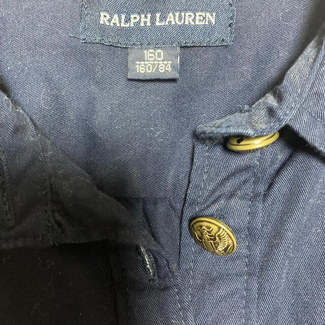 POLO RALPH LAUREN(ポロラルフローレン)のラルフローレンワンピース160ベルト付 キッズ/ベビー/マタニティのキッズ服女の子用(90cm~)(ワンピース)の商品写真