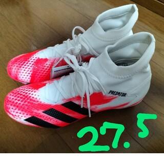 adidas - adidas 27.5 サッカースパイクシューズ白27.5cm未使用箱無し