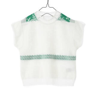 mame - Mame Cocoon Layered Knit Tops