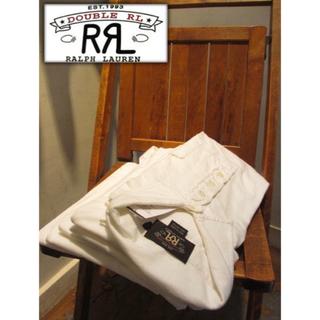ダブルアールエル(RRL)の美品 RRL DOUBLE RL polo shirt WHITE(ポロシャツ)