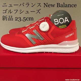 New Balance - 【新品】ニューバランス new balance ゴルフシューズ 23.5cm