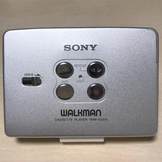 ソニー(SONY)の【美品DE可動品】ソニーカセットウォークマン WM-EX511(ポータブルプレーヤー)