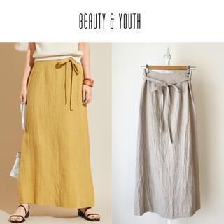 ビューティアンドユースユナイテッドアローズ(BEAUTY&YOUTH UNITED ARROWS)のBEAUTY&YOUTH サイドリボンタイトスカート (ロングスカート)