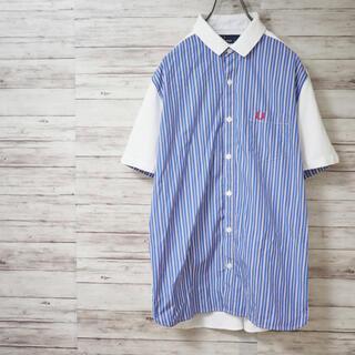 フレッドペリー(FRED PERRY)のFRED PERRY×THOMAS MASON ポロカラー半袖シャツ(シャツ)
