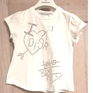 ベビーディオール(baby Dior)のベビーディオール♡キッズI LOVE DIOR ロゴ半袖Tシャツ ガールズ6A(Tシャツ/カットソー)