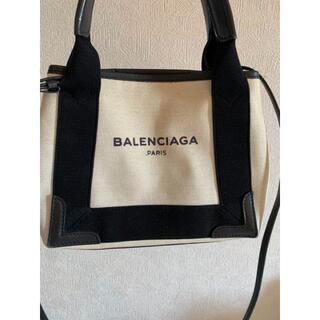 Balenciaga - バレンシアガ ネイビーカバス バッグ