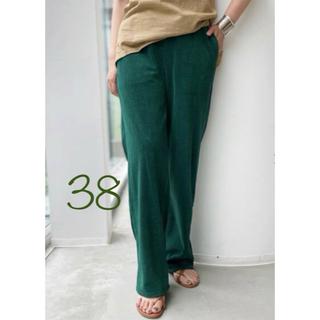 アパルトモンドゥーズィエムクラス(L'Appartement DEUXIEME CLASSE)の新品*アパルトモン Americana Pile Relax Pants(カジュアルパンツ)