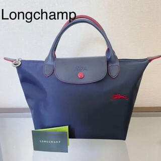 LONGCHAMP - 美品  Longchamp プリアージュ S ハンドバッグ トートバッグ
