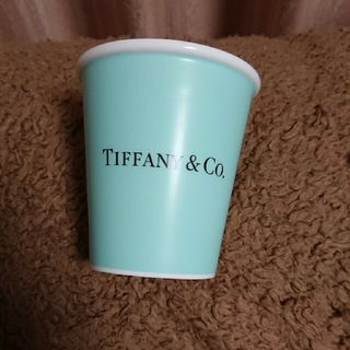 Tiffany & Co. - オマケ付き!お値下げ不可【新品・未使用】 ペーパーカップ ボーンチャイナ 1個!