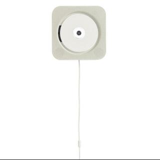 ムジルシリョウヒン(MUJI (無印良品))の無印良品 壁掛式CDプレーヤー 型番:CPD-4(ポータブルプレーヤー)