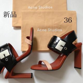 アクネ(ACNE)の新品/36 Acne Studios アクネ ストゥディオズ サンダル(サンダル)